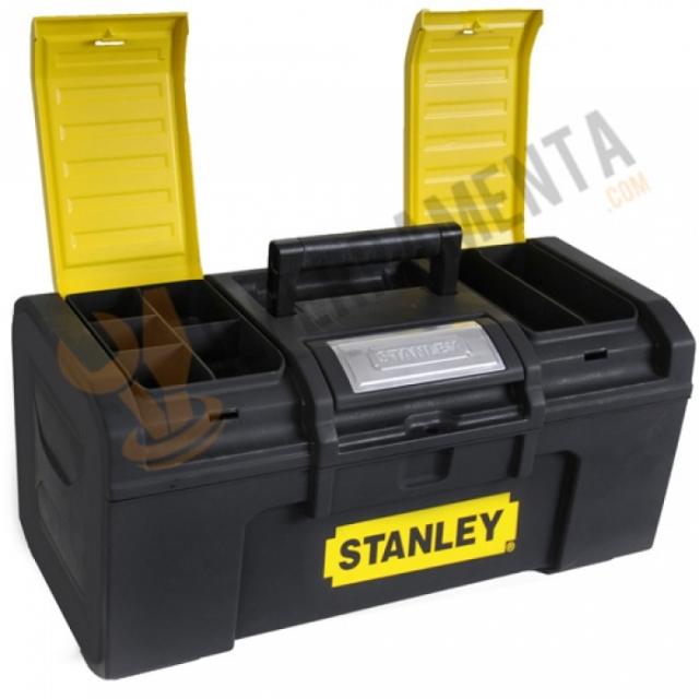 Stanley cassetta porta attrezzi 1 79 216 il ferramenta - Cassetta porta attrezzi stanley con ruote ...