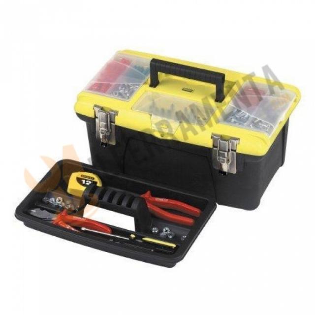 Stanley cassetta porta attrezzi 1 92 905 il ferramenta - Cassetta porta attrezzi stanley con ruote ...